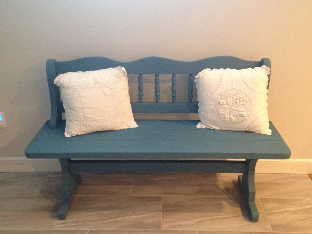 Duck Egg Blue Anne Sloan Bench