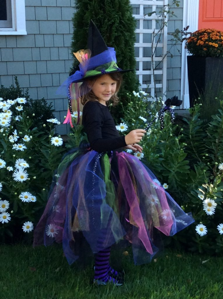 Easy Halloween Tutu Skirt