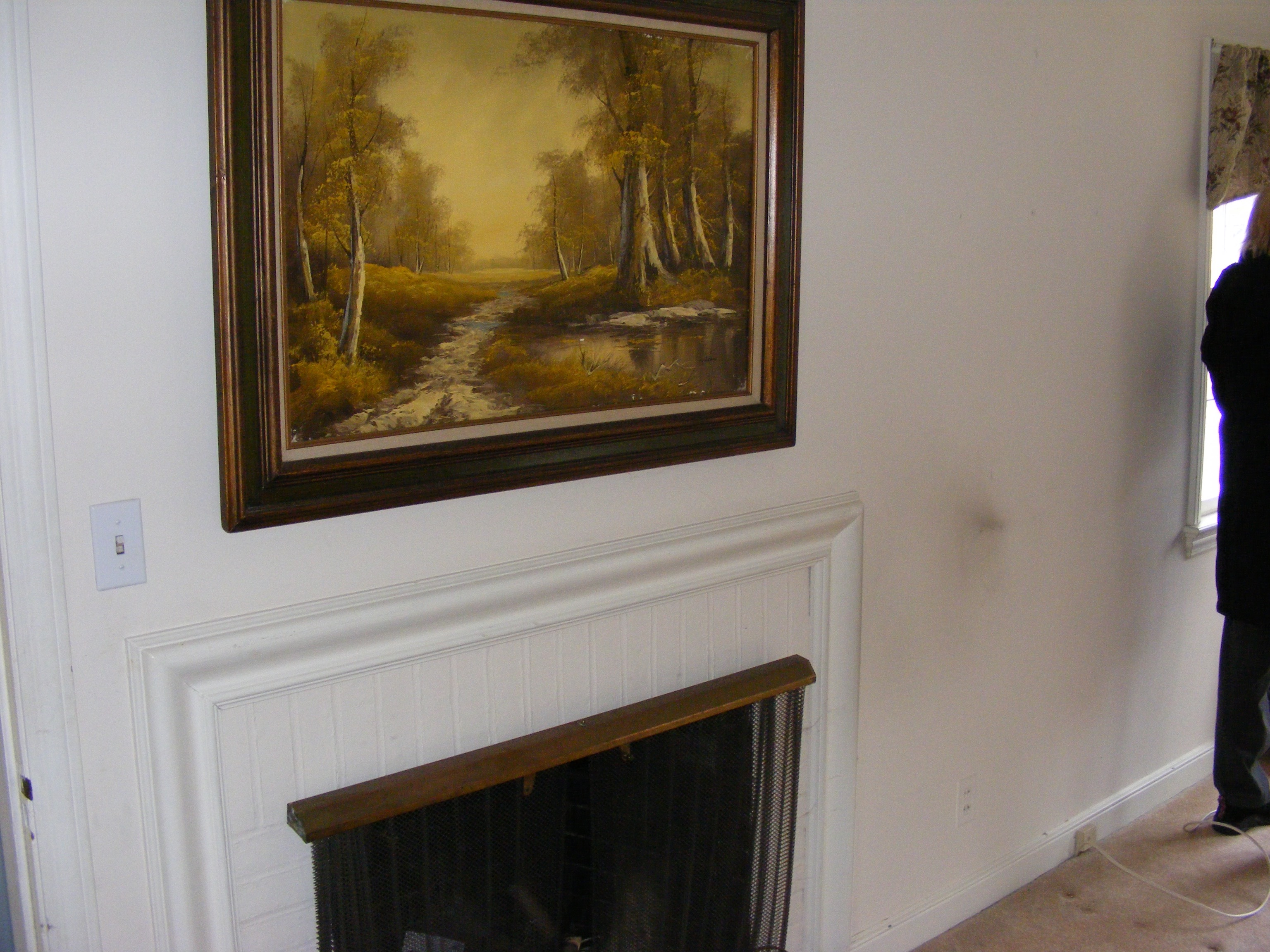 fireplace before and after cottagemade
